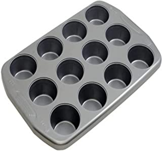 product image for G & S Metal Products Company Preferred Nonstick Muffin Baking Pan, 12-Cup, Gray
