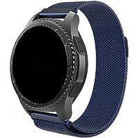Pulseira 22mm Magnética Milanese compatível com Samsung Galaxy Watch 3 45mm - Galaxy Watch 46mm - Gear S3 Frontier…