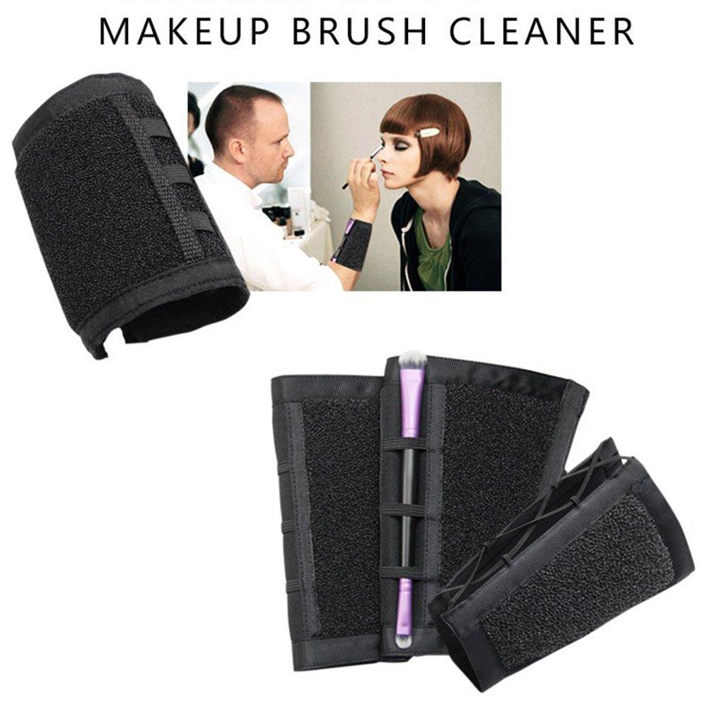 Pinkiou Make-up Pinsel Farbe Schalter Armband Reiniger Farbe Reinigung Arm Schwamm Trocken Make-up Pinsel Farbe Entferner Farbe Dedicated Washing Tool