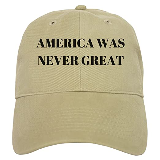 0f853eb5618 CafePress - America Never Great - Baseball Cap with Adjustable Closure