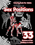 img - for Sex Positions Coloring Book for Adults: 33 Pictures of Sex Positions to Color: (Printed on Black Paper) Designed witla and Leaves, Henna, Manda Paisley Patterns (Erotic Coloring Book) (Volume 1) book / textbook / text book