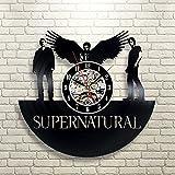 Supernatural Gift Wall Clock Vinyl Record Art Decor Vintage