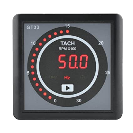 Amazon com : YOKDEN GT33 Engine Generator Meter Monitor RPM