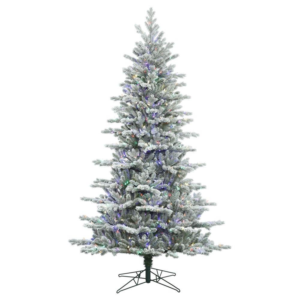 Vickerman Frosted Eastern Frasier Fir Christmas Tree G160847LED
