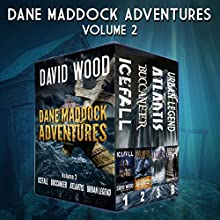 The Dane Maddock Adventures: Volume 2 Audiobook by David Wood Narrated by Jeffrey Kafer