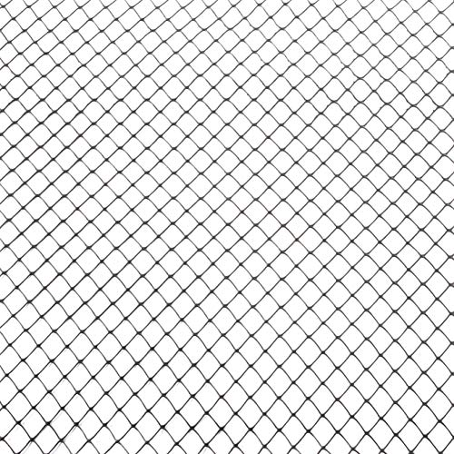 Tenax Sentry HD Safety Fence, Black, 4' x - Black Chain Link Fence