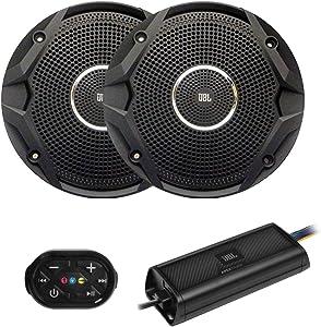 JBL Personal Watercraft Stereo Package - BT Remote, JBL APEXPA 454 Amp & 2 Waterproof JBL MS6510-B Speakers