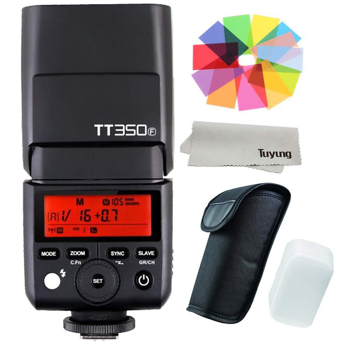 Godox tt350 F 2.4 G HSS 1 / 8000s TTL gn36カメラフラッシュSpeedlite for Fujiカメラx-pro2、x-t20、x-t2 , X - t1 , X - pro1 , x-t10、x-e1、x-a3、x100 F , x100t   B0721JLKM4
