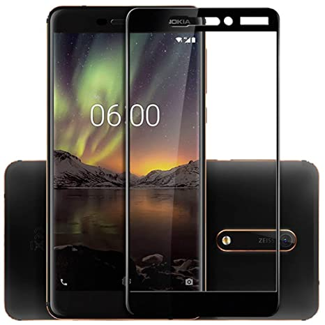 Cell Phones & Accessories For Nokia 6 2018 Best 100% Genuine Tempered Glass Guard Screen Protection