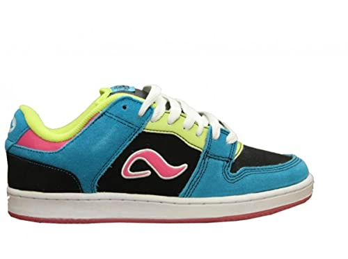 9c5c3efbcbc29f Adio Skateboard Shoes Monroe Black Blue Pink Sneakers shoes