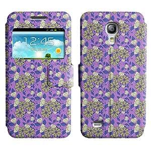 LEOCASE lindo perro Funda Carcasa Cuero Tapa Case Para Samsung Galaxy S4 Mini I9190 No.1006618