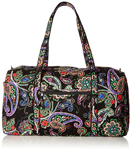 Women's Large Duffel, Signature Cotton, Kiev Paisley by Vera Bradley