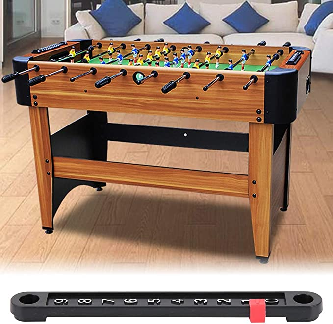 Alomejor 6 Pcs Table Games Counter Mini Score Board Snooker Counter Scorer Indicator para mesas de futbol/ín est/ándar