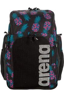 Amazon.com : Arena Spiky 2 Large Swim Backpack, Black/Red ...