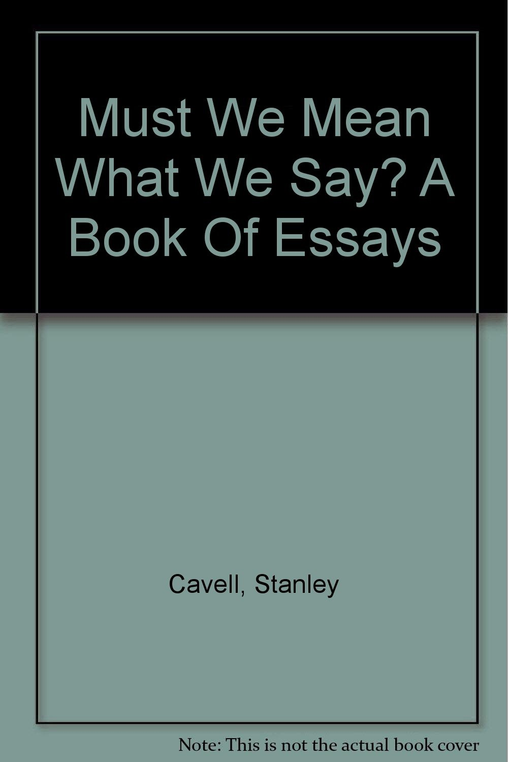 what is a book of essays