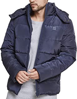Urban Classics Hooded Puffer Jacket Chaqueta para Hombre: Amazon ...
