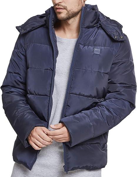 Uomo Hooded Urban Classics Cappotto Puffer it Jacket Amazon nSaXxBwqg