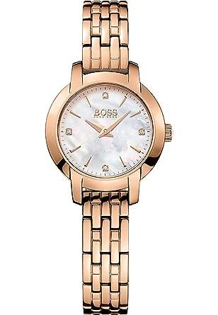 07eaf810dc2 Reloj Hugo BOSS para Mujer 1502379  Amazon.es  Relojes