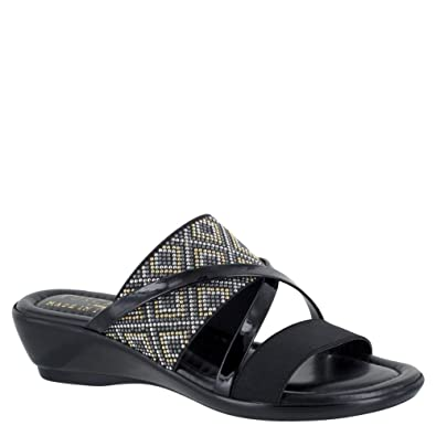 Easy Street Palazzo Wedge Sandals Women's Shoes 19Kc6