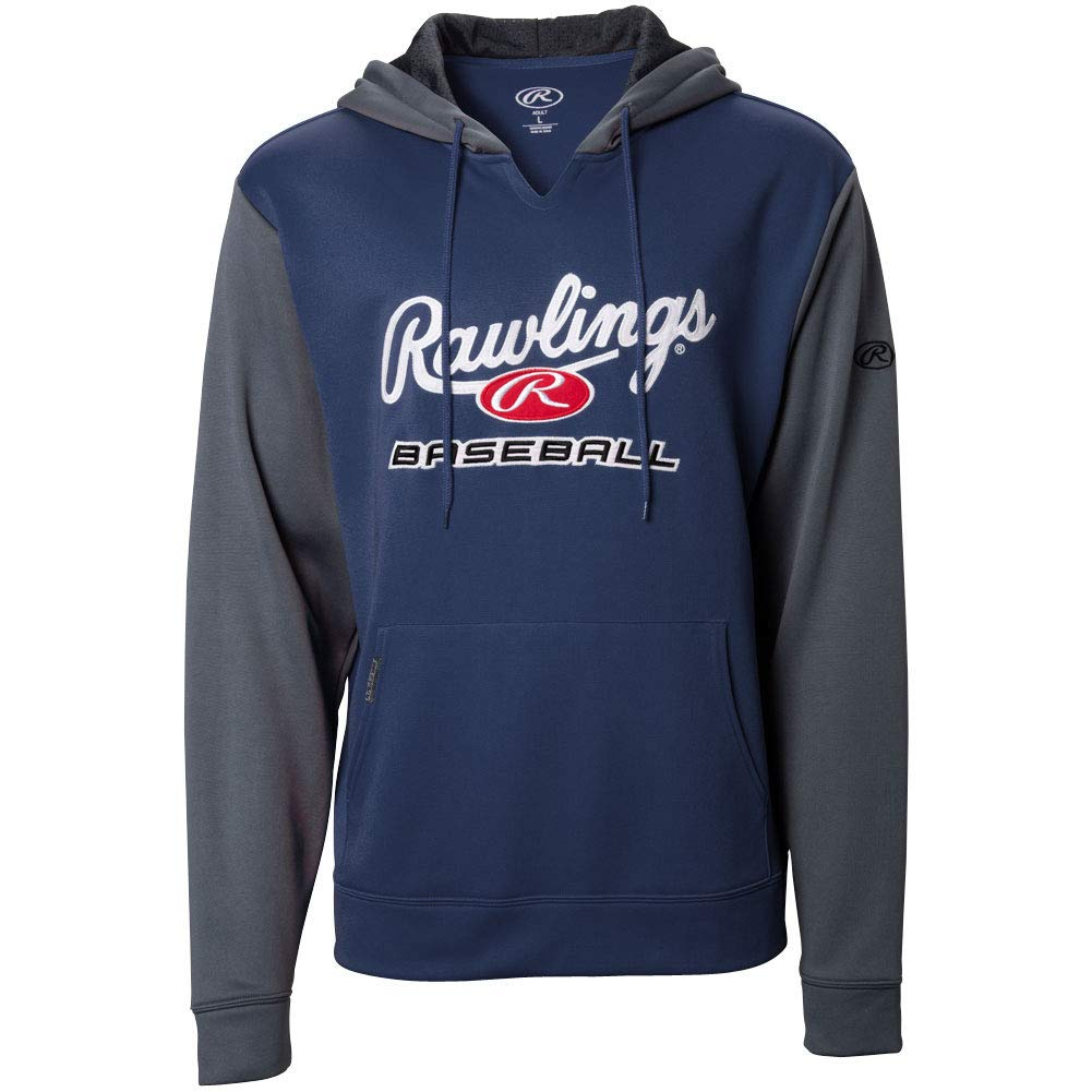 Rawlings Mens Performance Fleece Hoodie