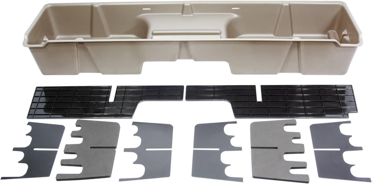 B000ACYQ4O DU-HA Under Seat Storage Fits 99-07 Chevrolet/GMC Silverado/Sierra Extended Cab, Tan, Part #10003 61Yq-rTVSzL