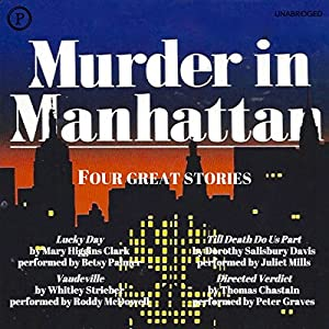 Murder in Manhattan Audiobook