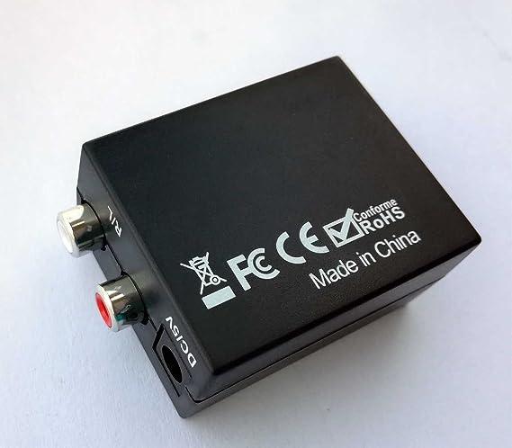 Easyday Premium Digital to Analog Audio Converter: Amazon.es: Electrónica
