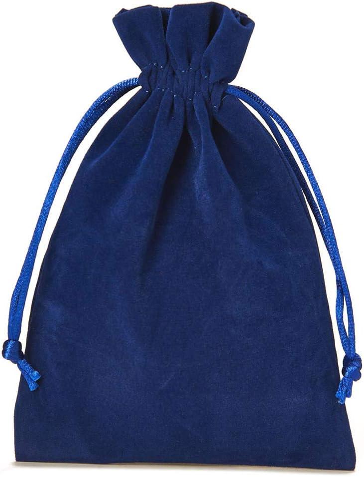 Blau Adventskalender Nikolausverpackung Weihnachtsverpackung Samtbeutel-Geschenkverpackung organzabeutel24 Gr/ö/ße 10x7,5 cm 12 Samts/äckchen