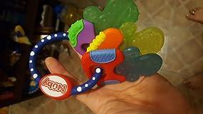 Cute keyring that helps babies gums