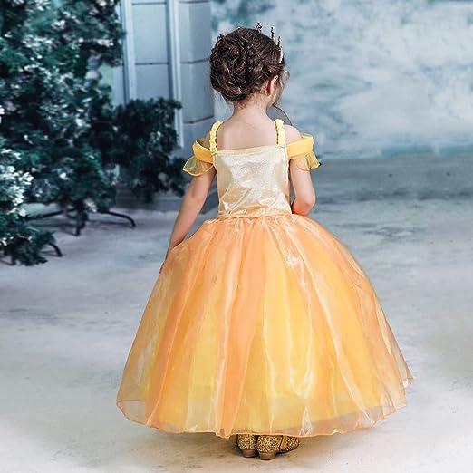 Vectry Vestido Niña Disfraz Niña Bebé Niñas Correa Tulle Princesa ...