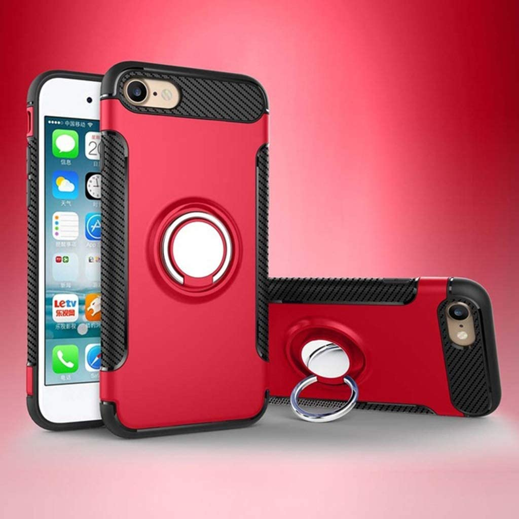 RENKUNDE Bracket Anti Crash Shell 4.7For iPhone 7 8 Case for Apple iPhone 7 8 IPhone7 IPhone8 Cell Phone Back Cover Case Phone case Color : 8, Size : iPhone 8