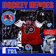 Hockey Heroes 2018 Square Calendar