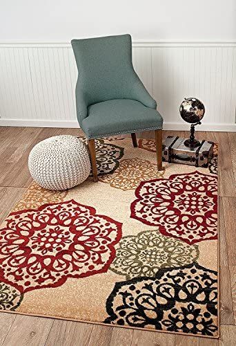 Summit S10 New Area Rug Modern Abstract Rug , 4×6 actual is 3 .8 x5