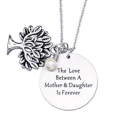 Amazon.com: O.RIYA Personalized Family Tree Necklace, Tree of Life ...