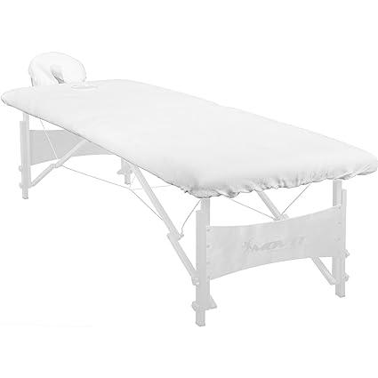 Maxstore - Funda para camilla de masajes (lavable hasta 60°, 100% algodón