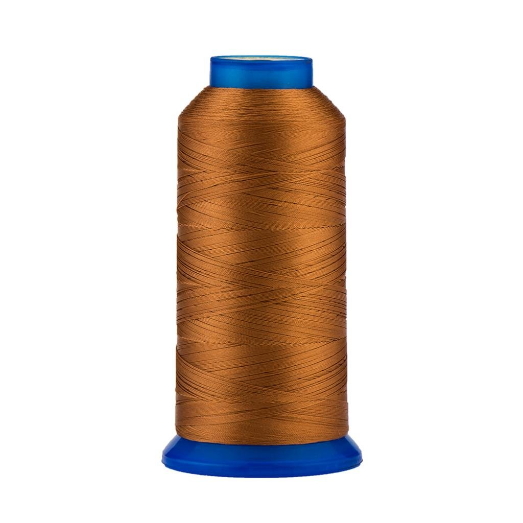 Selric [1500Yards / 130g / 30 Colors Available] UV Resistant High Strength Polyester Thread #69 T70 Size 210D/3 for Upholstery, Outdoor Market, Drapery, Beading, Purses, Leather (Black) 4337017253