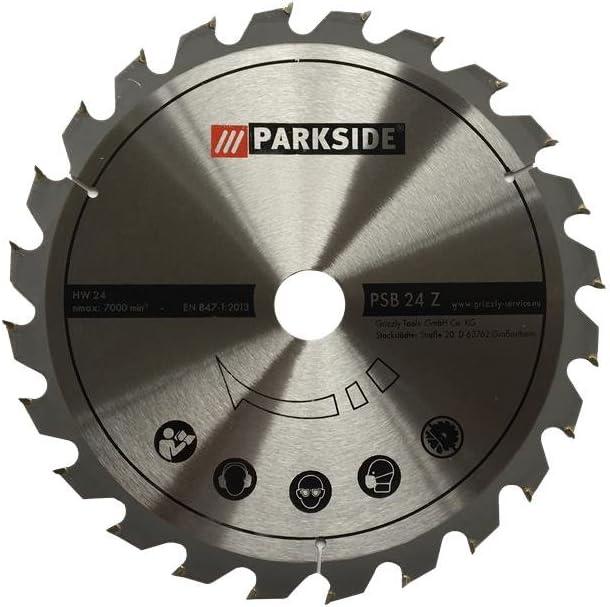 Park Side sega circolare da banco lama 24/denti adatto per Parkside ptks 2000/A1/ /Park Side Lidl sega circolare da banco della sega di ricambio /Ian 104416/