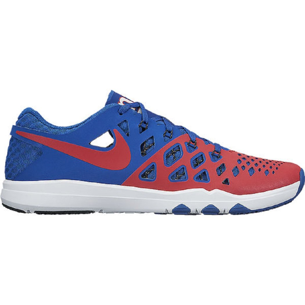 NIKE Men's Train Speed 4 Running Shoe B06WLJP8RJ 9 D(M) US|Gym Red/Gym Red-rush Blue-white