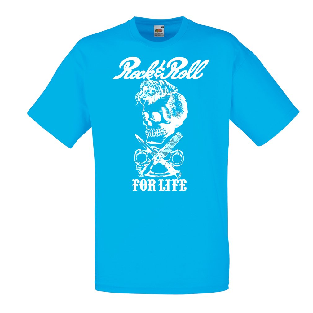 1980s Vintage Band 1960s,1970s Musically Concert Clothing T Shirts for Men Rock and Roll for Life