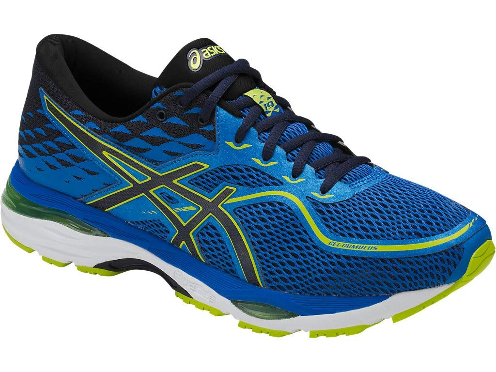 ASICS Mens Gel-Cumulus 19 Running Shoe, Directoire Blue/Peacoat/Energy, 6 Medium US