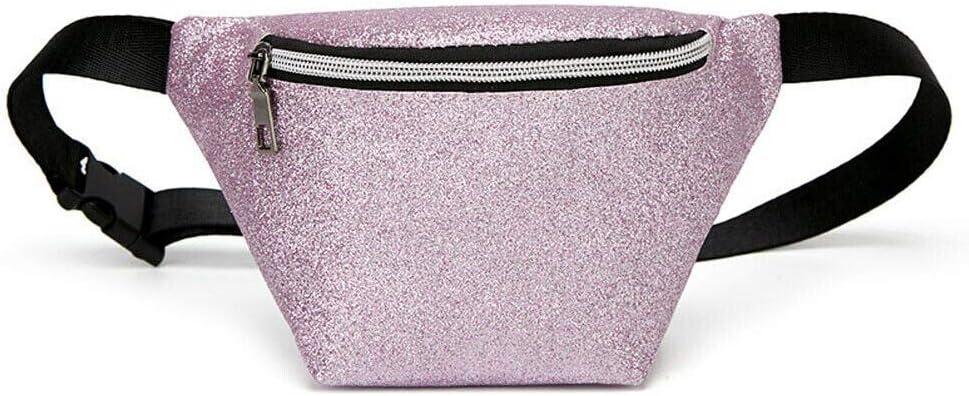 ODVAHN Paquete de la Cintura Moda Mujer Casual Fanny Pack Monedero Cuello de la Cintura Bolso Bolsa Playa Dinero Bolsa Púrpura: Amazon.es: Equipaje