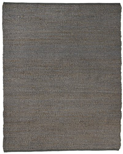 Anji Mountain AMB1031-0058 Portland Jute Area Rug, Gray, 5 x - Stores Outlet Portland