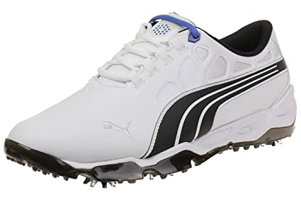 Puma BioFusion Tour SL Leather Men Golfschuhe Golf 188399 02 white ... 50a23f64a