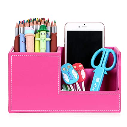 2019 Fashion 2019 New Desk Mesh Pen Pencil Holder Office Supplies Multifunctional Digital Led Pens Storage Desk Accessories & Organizer Pen Holders
