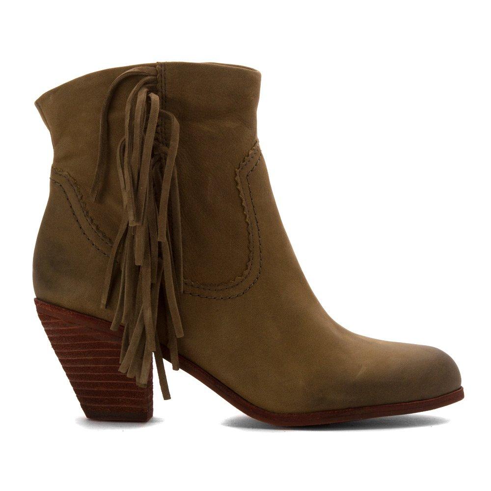 f81c8715a431 Sam Edelman Women s Louie Fringe-Trimmed Ankle Boot  Amazon.ca  Shoes    Handbags
