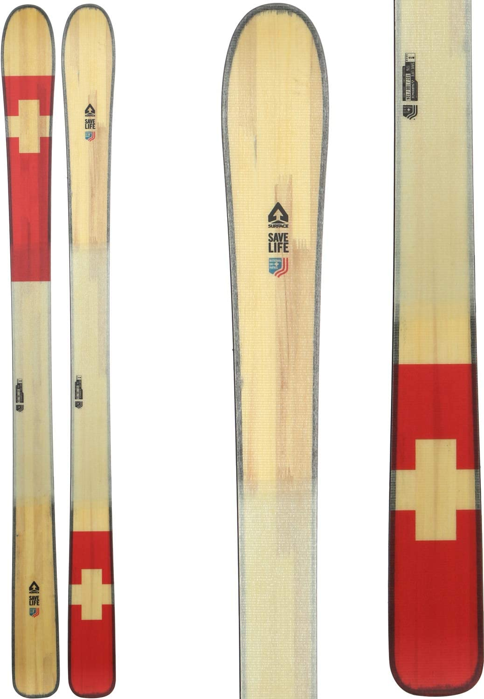 Surface Save Life Skis Mens Sz 176cm White