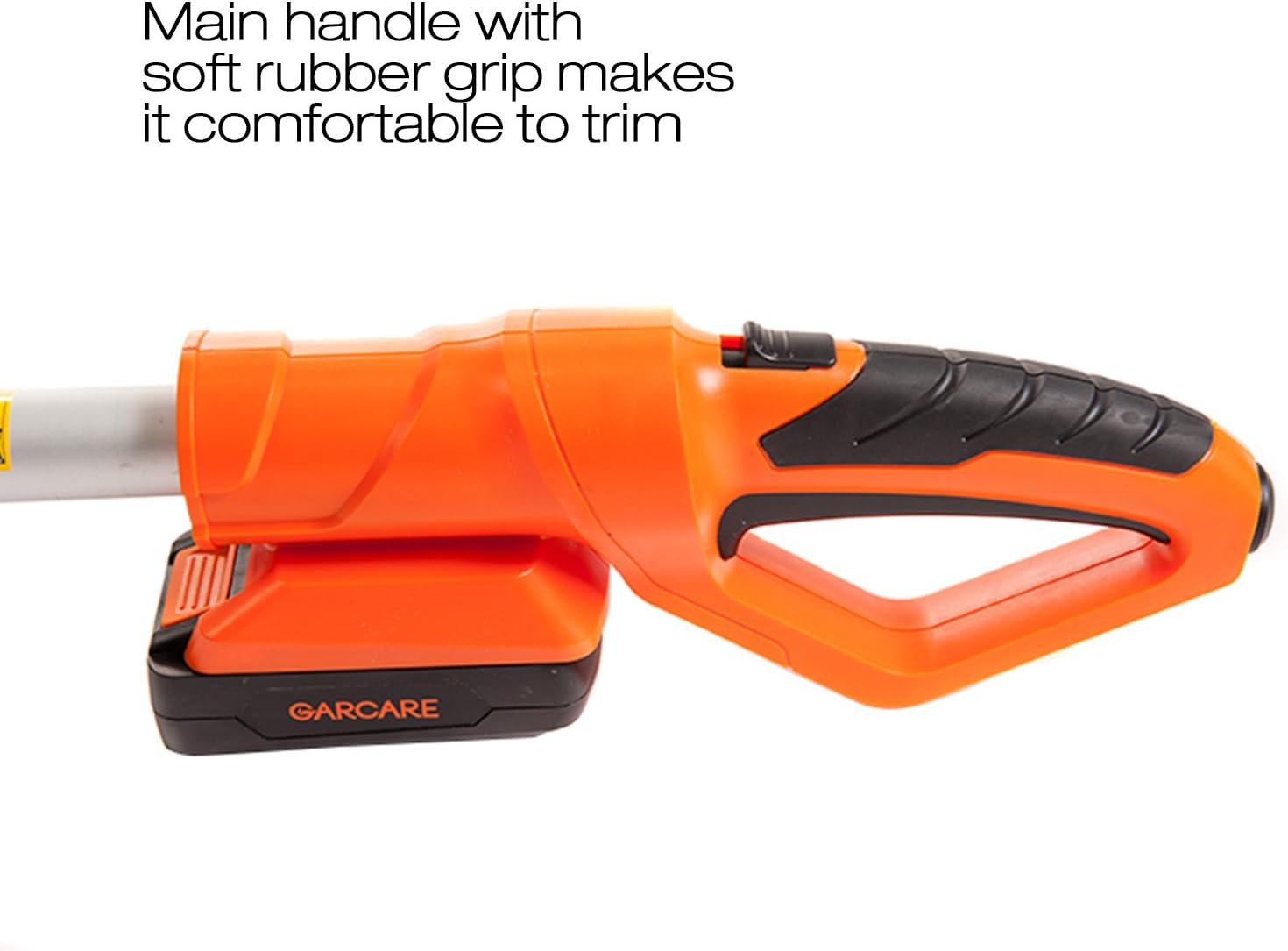 Amazon.com: garcare 20 V cordedless Polo Cortasetos con ...