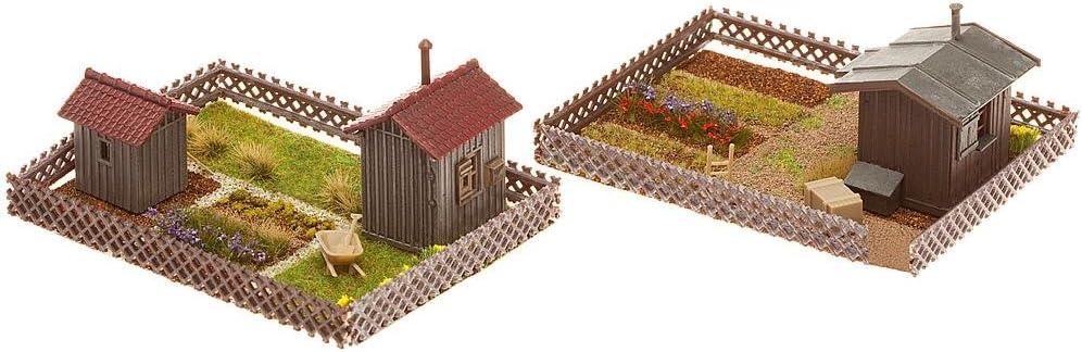 FALLER 180494 h0 2 déco avec cabane NOUVEAU /& NEUF dans sa boîte +