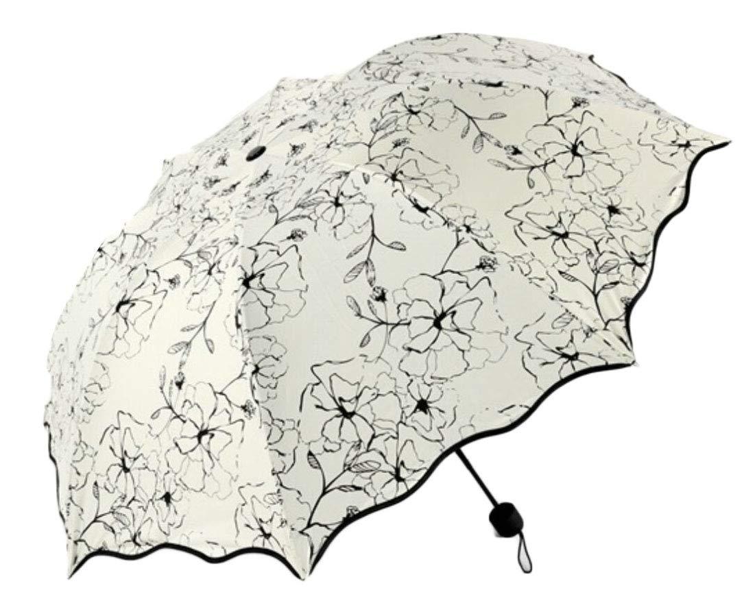 Gocgt Lightweight Tarvel Compact Umbrella, Waterproof Windproof Umbrella 3 OS