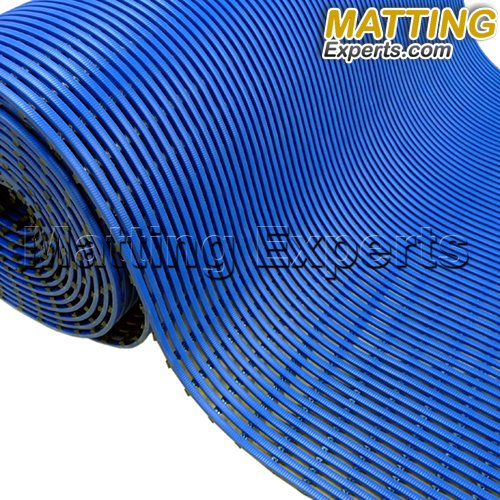 VinGrate Mat Wet Area Floor Matting for Swimming Pool Shower/Locker Room Bathroom Sauna SPA 4-Way Water Drain Indoor/Outdoor Use 3/8'' Thick Non-Slip Comfortable on Barefoot (3' x 10', Gray, 1) by MattingExperts (Image #3)